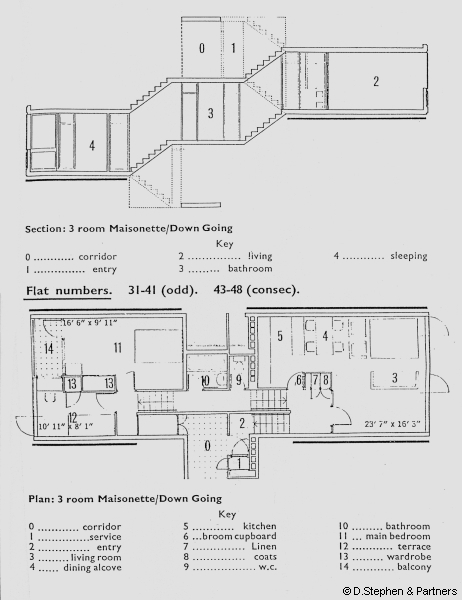 A Down Going Two Bedroom Flat (click For Larger Image)